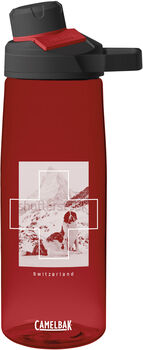 CamelBak Chute Bernhardiner Edition Trinkflasche Rot