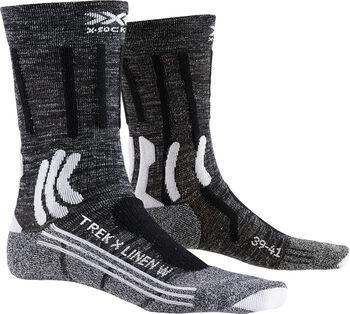 X-Socks TREK X LINEN Wandersocken Damen Grau