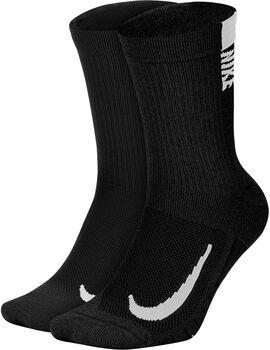 Nike Multiplier Crew Socken Herren Schwarz