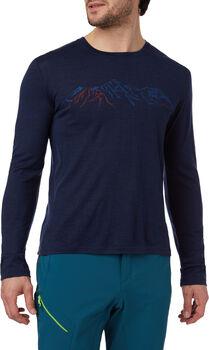 McKINLEY Fitz Langarm-Shirt Herren Blau