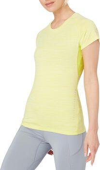 ENERGETICS Eevi II Shirt de running à manches courtes Femmes Jaune
