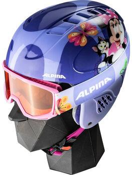 ALPINA Carat Disney Set Skihelm Violett