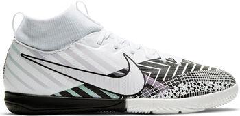 Nike JR SUPERFLY 7 ACADEMY MDS IC chaussure de football en salle  Garçons Blanc