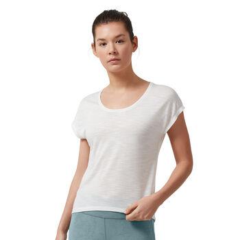 On Active Shirt running à manches courtes Femmes Blanc