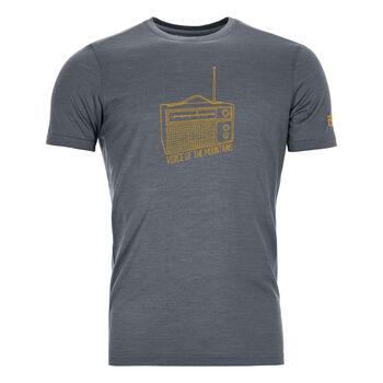ORTOVOX 150 COOL RADIO T-Shirt Herren Schwarz