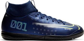 Nike JR SUPERFLY 7 ACADEMY MDS IC Fussballschuh Indoor Jungs Blau