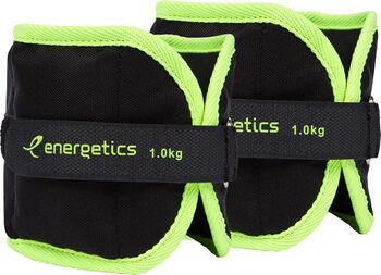 ENERGETICS Gewichtsmanchetten Schwarz