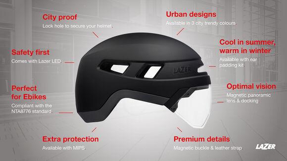 City Urbanize MIPS casque de vélo