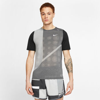 Nike Rise 365 Future Shirt running Hommes Noir