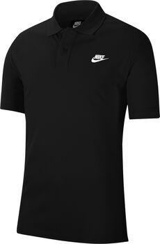 Nike Sportswear Poloshirt Herren Schwarz