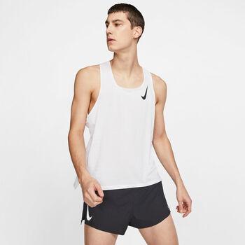 Nike AeroSwift tank top Hommes Blanc