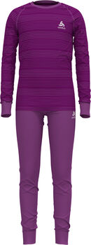 Odlo ACTIVE WARM ECO Funktionsunterwäsche-Set Violett