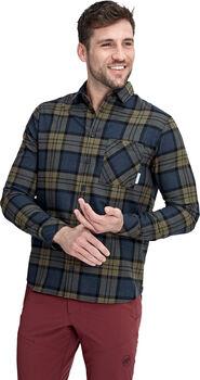 MAMMUT Trovat chemise de randonnée à manches longues  Hommes Bleu