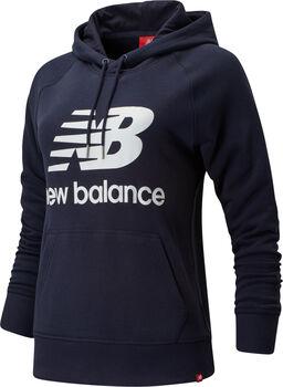 New Balance Essentials Pullover Hoody Damen Blau