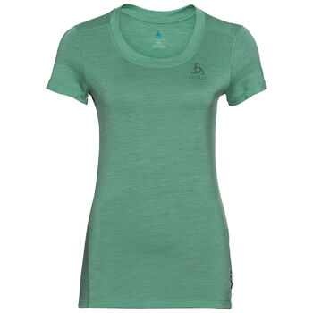 Odlo Natural + Light Baselayer T-Shirt Damen Grün