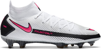Nike Phantom GT Elite Dynamic Fit FG chaussure de football Hommes Blanc