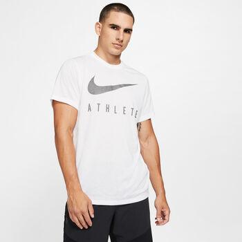 Nike Dry Swoosh T-Shirt Herren Weiss