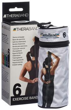 TheraBand 2.5m Fitnessband Schwarz