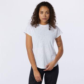 New Balance Q Speed t-shirt Femmes Blanc