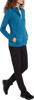 McKINLEY Aami Hooded Fleecejacke Damen Blau