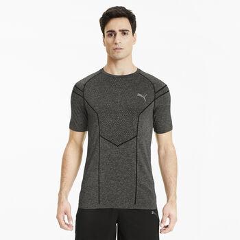 Puma Reactive evoKNIT T-Shirt Herren Schwarz