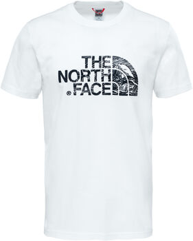The North Face Wood Dome T-Shirt Herren Weiss