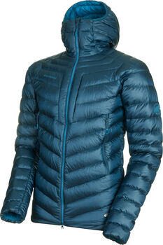 MAMMUT Borad Peak Hooded Dauenjacke Herren Blau