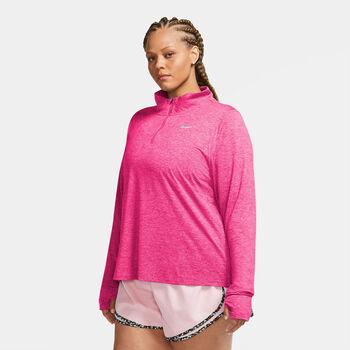 Nike Element Half Zip Damen Pink