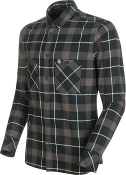 MAMMUT Alvra T-shirt de fonction à manches longues Hommes Noir