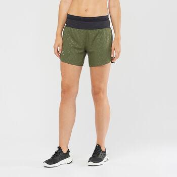 Salomon XA short de running  Femmes Vert