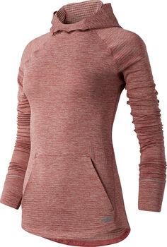 New Balance Heat Grid Hoody Damen Pink