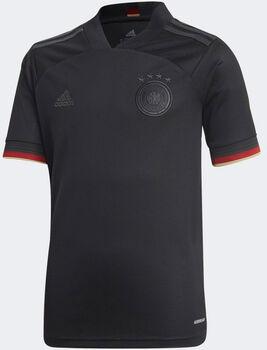adidas Deutschland Away Replica Fussballtrikot Schwarz
