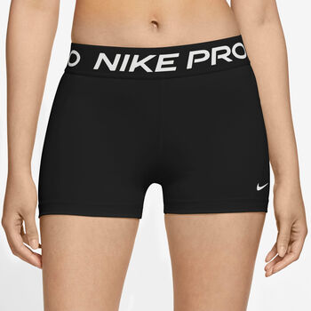 Nike Pro 365 Trainingsshorts Damen Schwarz