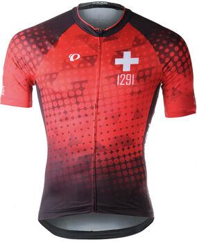 PEARL iZUMi ELITE Interval LTD Jersey Suisse Edition 2.0 Biketrikot Herren Rot