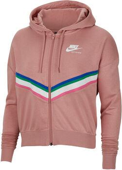 Nike Sportswear Heritage Fleecejacke Damen Pink