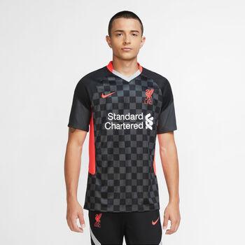Nike FC Liverpool Breathe Stadium 3R Fussballtrikot Herren Schwarz