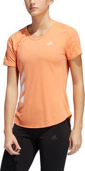 adidas Performance RUN IT 3 Stripes Laufshirt Damen Pink