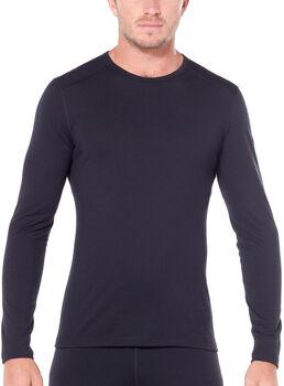 Icebreaker 200 Oasis chemise fonctionnelle à manches longues Hommes Noir