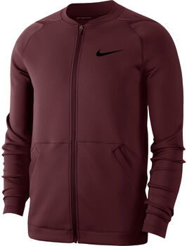 Nike Training Fleecejacke Herren Rot