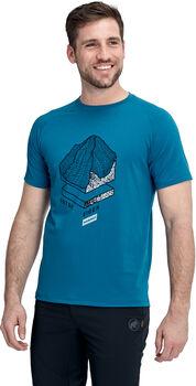 MAMMUT Mountain T-Shirt  Herren Blau