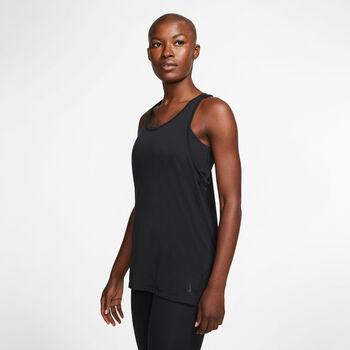 Nike Yoga Tanktop Damen Schwarz