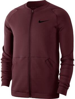Nike Training Fleecejacke Herren Rot