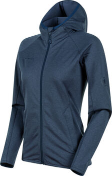 MAMMUT Nair Midlayer Hooded Fleecjacke Damen Blau