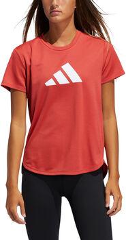 adidas 3 Streifen Trainingsshirt Damen Rot