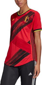 adidas Belgien Home Replica Fussballtrikot Damen Rot