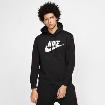 Nike Sportswear Club Hoody Herren Schwarz
