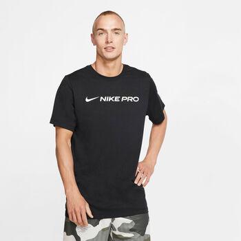 Nike Dri-FIT Trainingsshirt Herren Schwarz