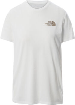 The North Face Foundation Graphic T-Shirt Damen Weiss