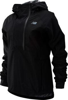 New Balance Q Speed Waterproof Laufjacke Damen Schwarz