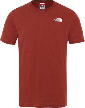 The North Face Redbox Celebration T-Shirt Herren Braun